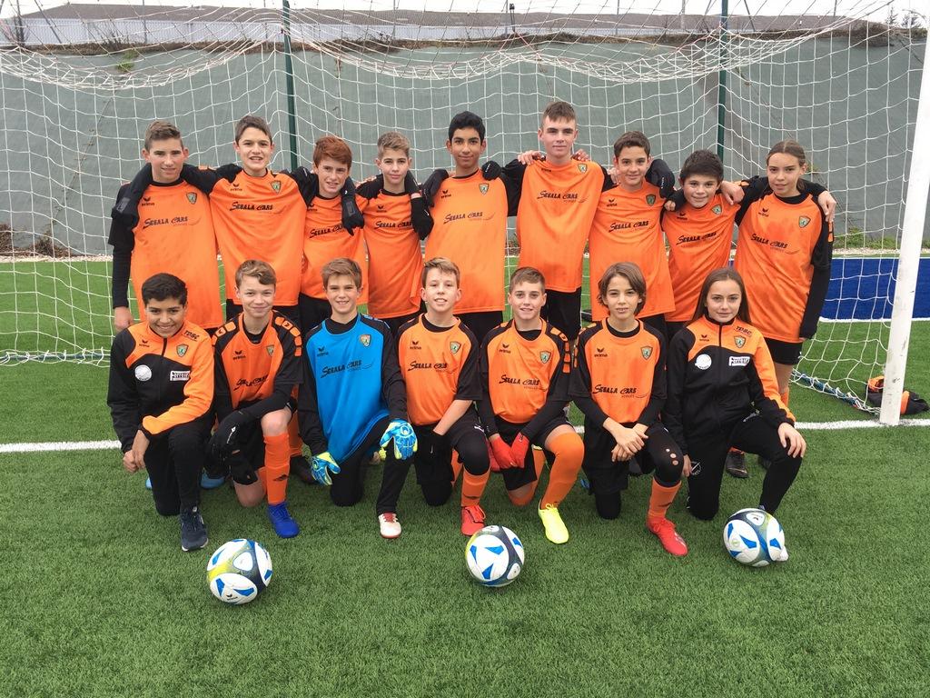 DFC u15 équipe 1