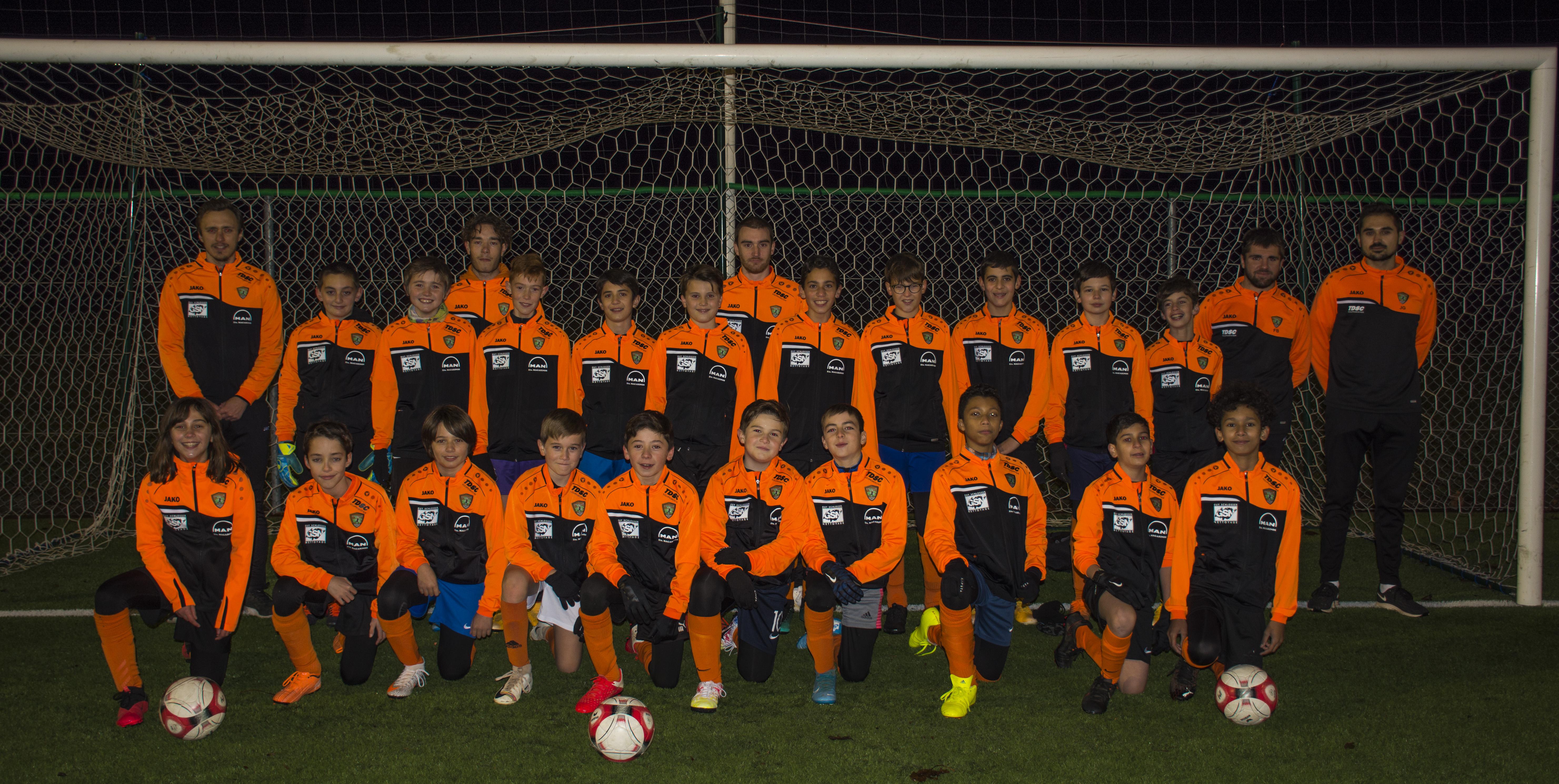 DFC u13 équipe 1